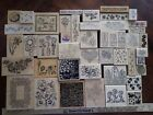 Rubber Stamp Lot 53 FLOWERS Blooms BLOSSOMS realistic NATURE GARDEN Easter