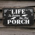 Hand made  PORCH Sign-Primitive Rustic Country Home Decor