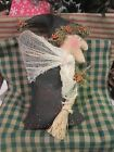 Primitive Halloween Witch - Ornie, Tuck or Bowl Filler - So Cute!!!   #1602