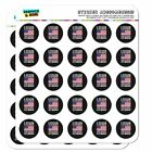 I Stand For The Flag Kneel Cross USA Planner Calendar Scrapbooking Stickers