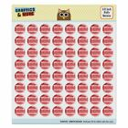 Let's Do It The Dumbest Way Possible Puffy Bubble Scrapbooking Sticker Set