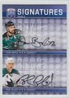 2008-09 UD BAP DAN BOYLE ROB BLAKE DUAL AUTO S2-BB Signatures Be a Player Sharks