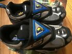 New SKECHERS Size 4 Boys Youth BLUE Black Luminators Athletic Sneakers Shoes