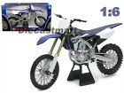 HUGE NEW RAY 16 YAMAHA 2015 YZ 450F DIECAST DIRT BIKE MOTORCYCLE BLUE 49643