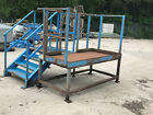 DOCK LEVELER/PICKING LINE ACCESS PLATFORM