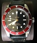 Tudor Heritage Black Bay 41 Red on Aged Leather Strap Ref: 79230R-0005 Pre Owned