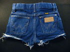 Wrangler Vintage CUTOFF JEAN SHORTS Cut Off W 24 MEASURED Hot Pants