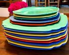 14 Piece Riviera Set Bread & Butter, Salad, and Luncheon Plates Homer Laughlin