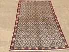 Hand Knotted Persian Esfahan- Semi Antique  Oriental Rug carpet 3x5,3'3''x4'11''