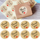 120x Thank You Craft Paper Sealing Stickers Wedding Letter Gift Labels Cheap