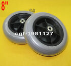 2 x Power Wheelchair Rear Caster Tires 200x50mm for Pride Jazzy Jet Electric
