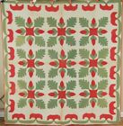 Acorn Applique Antique Quilt!