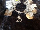 Celebrate Your 25 pound Weight Loss with 25 Charm for Weight Watchers Keychain