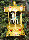 Tobin Fraley (Signed) Holiday Carousel (Hallmark, QLX749-6) Lighted (1994)