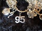 Celebrate Your 95 pound Weight Loss with 95 Charm for Weight Watchers Keychain