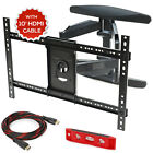 Full Motion TV Wall Mount Swivel Bracket 42 50 55 60 65 70 LED Flat Screen VESA