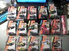 LOT OF 15 2013 MATCHBOX 164 IN PACKAGES JEEP BUS LAND ROVER SEA SPY ++