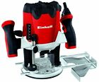 Einhell TE-RO 1255 E 240 V Electronic Router, 1/4 Inch - Multi-Colour