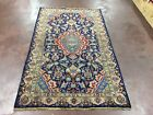 Artefact Design Semi Antique Hand Knotted Persian Kashmar Rug Carpet 4x6,4'x6'6