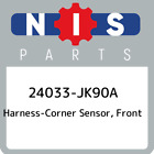 24033 JK90A Nissan Harness corner sensor front 24033JK90A New Genuine OEM Part