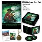 ALESTORM Captain Morgan's Revenge Deluxe Box Set ONLY 500 2cd cards flag pendant
