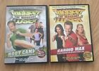 Lot of 2 The Biggest Loser DVDS Cardio Max  Boot Camp Workouts Excercise