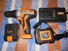 JCB 20V LI-ION CORDLESS DRILL WITH 2 BATTERIES AND CHARGER