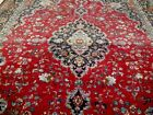 10X13 1940's AUTHENTIC ANTQ HAND KNOTTED 70+YRS ARTIST SIGNED MASHAD PERSIAN RUG