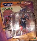 allen iverson starting lineup hasbro 1998 edition georgetown w/rookie card NM