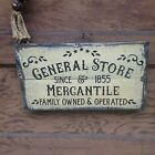 General Store Mercantile Primitive Rustic Country Home Decor
