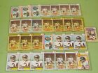 1977-1981 Topps Walter Payton Lot of 29 Cards w 1978, 1979, 1980, 1981 Nice! A9