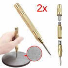 2x 5'' Automatic Center Pin Marking Holes Starting Punch Spring Loaded Tool NEW