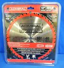 Admiral 62718 Construction Circular Saw Blade Disc 10