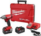 Milwaukee Impact Wrench Pin Detent Kit Brushless Cordless Batteries Charger 18V