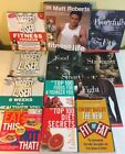 Fitness Health Book Lot of 12 Mens Health Top 100 Biggest Loser Fit or Fat