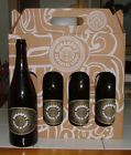 Cigar City - Hunahpu 2017 bottles and carrier - collectible craft beer labels