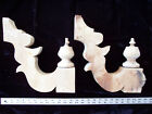 Vintage Large Pair of Architectural Wood Corbels Brackets salvage Shabby Chic