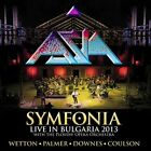 ASIA - SYMFONIA-LIVE IN BULGARIA 2013 (2CD+DVD DIGIPAK)  2 CD+DVD NEW+