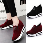 Women Fashion Casual Wedge Platform Shoes Athletic Outdoor Sports Sneakers New