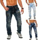 Cipo  Baxx Herren denim Jeans Hose Vintage Look Straight Cut CD272 CD296 C 1178