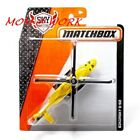 SIKORSKY S 92 Yellow  MBX ON A MISSION  2014 MATCHBOX Sky Busters Series Die