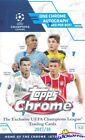 2017 18 Topps Chrome UEFA Champions League Factory Sealed HOBBY Box-AUTOGRAPH!