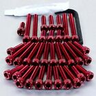 Pro-Bolt ALU Engine Bolt Kit - Red EOAP10R Aprilia Climber 280-300 All Years