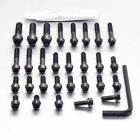 Pro-Bolt SS Engine Bolt Kit - Black EHO048SSBK Honda CB400 CB-1 NC27 88-90