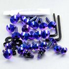 Pro-Bolt TI Fairing Bolt Kit - Purple FSU120TIP Suzuki GSX-R750 WN-WS 92-95