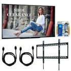 Sharp 90 Class 1920X1080 Commercial LCD HDTV Display Wall Mounting Bundle