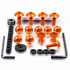 Pro-Bolt ALU Fairing Bolt Kit - Orange FHO106O Honda NX650 J-M Dominator 88-91