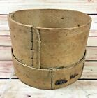 VINTAGE LIGHT WOOD WOODEN PRIMITIVE SIEVE FLOUR GRAIN SIFTER OLD