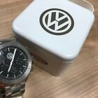 Volkswagen Fossil Stainless Steel Watch ^^^BUY IT NOW^^^ Hard To Find