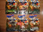 Matchbox Jurassic Park World Legacy Collection Ford Jeep Mercedes Full 6 car Set